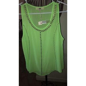 Ya Los Angeles Neon Green Top